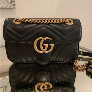 100% Authentic Gucci Marmont bag Small